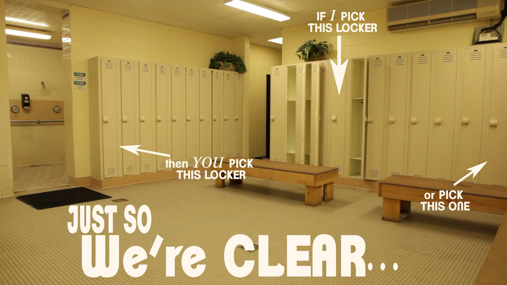 Crappy Locker Room